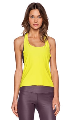 Blue Life Sports Bra Tank in Citrine Nocturnal