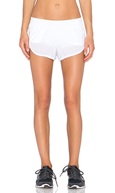 Blue Life Sportmesh Running Short in White