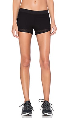 Mesh Running Short in Black