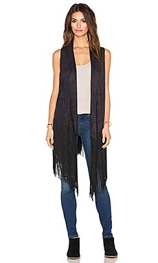 Blue Life Rhiannon Vest in Cypress Black