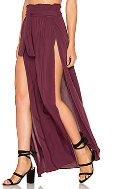 Grace Wrap Skirt in Wild Berry