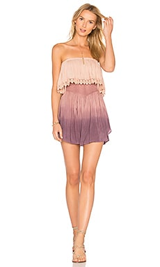 Festival Lace Romper in Magic Ombre