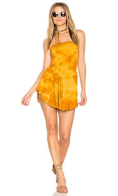 Dance Till Dawn Romper in Typsy Gypsy Sun Flower