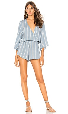 Wild And Free Romper Blue Life $141
