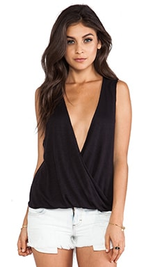 Sleeveless Haley Top in Black