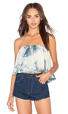 Wildest Dreams Top in Deep Blue Crystal