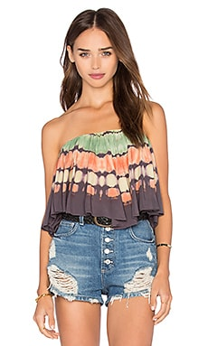 Wildest Dreams Top en Tecate Border Tie Dye