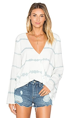 Hayley Top in Shadow Stripe
