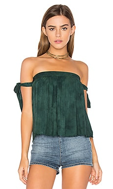 Of the Shoulder Top en Emerald Coast