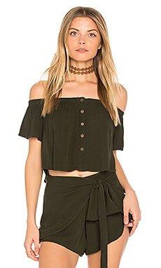 Ojai Crop Top in Cactus