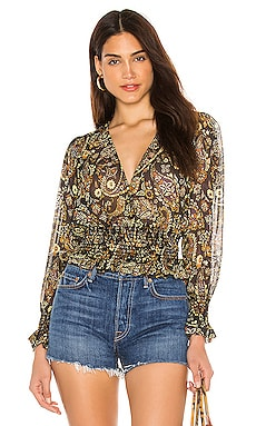 Cora Top Blue Life $75 (FINAL SALE)