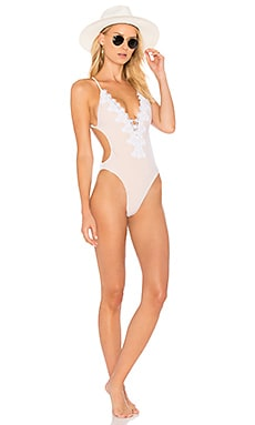Magnolia One Piece Swimsuit in White