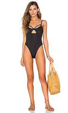Blue Life Malibu Crush One Piece in Black