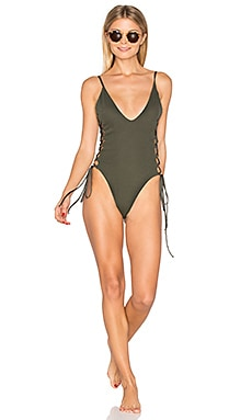 Mermaid One Piece in Military Green