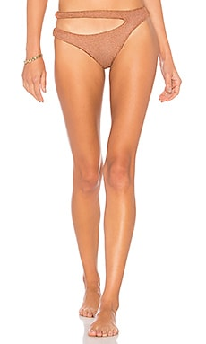 Willow Skimpy Bottom in Rose. - size M (also in S) Blue Life Good Selling Geniue Stockist Cheap Price 1Ayllxrbh