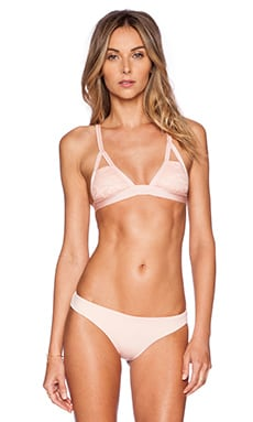 Blue Life Canne We Kiss Bikini Top in Rose