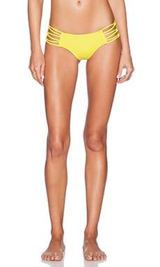 Blue Life Saguaro Hipster Bikini Bottom in Kiwi
