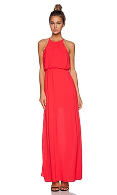 Bella Luxx Column Tank Dress in Scarlett