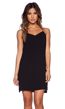 Bella Luxx Cami Slip Dress in Black