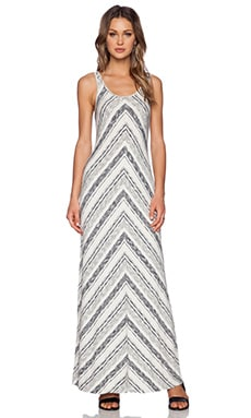 Bella Luxx Maxi Tank Dress in Antigua Stripe