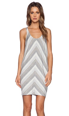 Bella Luxx Oversized Tank Dress in Dubai Stripe