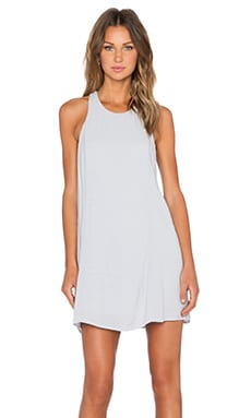 Bella Luxx Paneled Shift Dress in Moonstone