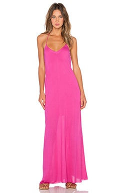 Bella Luxx T Back Maxi Dress in Hibiscus