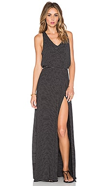 Bella Luxx Open Back Maxi Dress in Hamburg Stripe