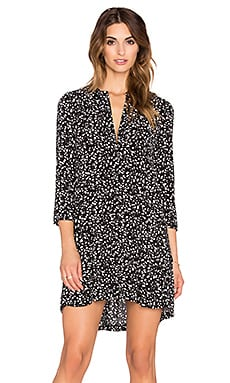 Bella Luxx Pleat Back Shirt Dress in Copenhagen Print