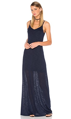 ROBE MAXI OPEN BACK