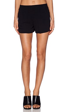 Track Short in Black