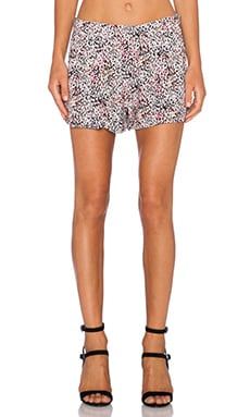 Bella Luxx Pleated Trouser Short in Adelaide Print