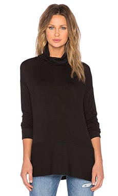 Bella Luxx Turtleneck Sweater in Black
