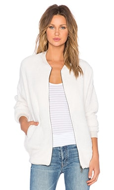 Bella Luxx Sherpa Jacket in Cream