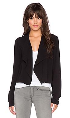 Bella Luxx Draped Jacket in Black