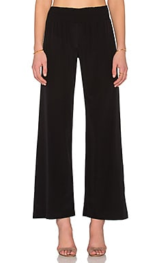 Bella Luxx Wide Leg Pant in Black