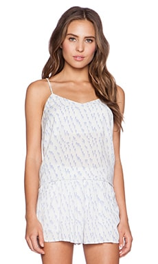 Bella Luxx Woven Cami Tank in Moab Print