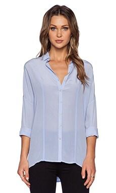 Bella Luxx Oversized Button Up in Powder Blue