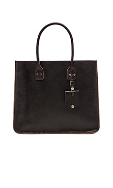 Billykirk No. 235 Leather Tote in Java