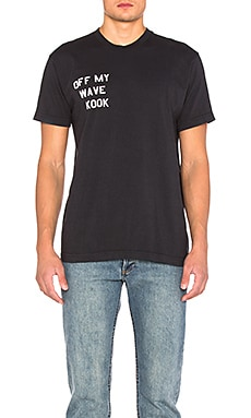 Brothers Marshall Off My Wave Tee in Charcoal
