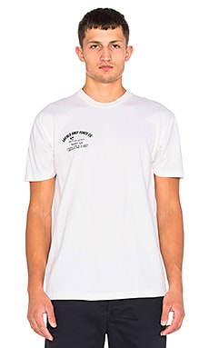 Brothers Marshall Locals Only Fence Co Tee in White