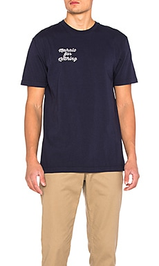 Brothers Marshall Mahalo Tee in Navy
