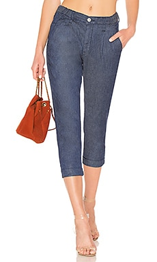 Linen Trouser Brappers Denim $261