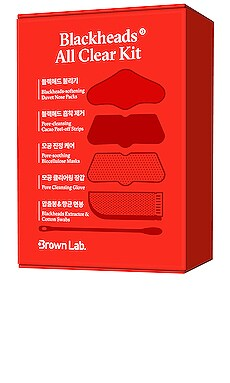 НАБОР BLACKHEAD ALL CLEAR Brown Lab $13