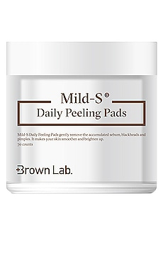 ALMOHADILLAS MILD S DAILY PEELING Brown Lab $25