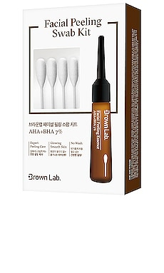 Facial Peeling Swab Kit Brown Lab $8