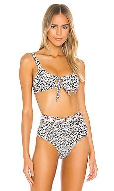 X REVOLVE Flora Bikini Top BOAMAR $77 BEST SELLER