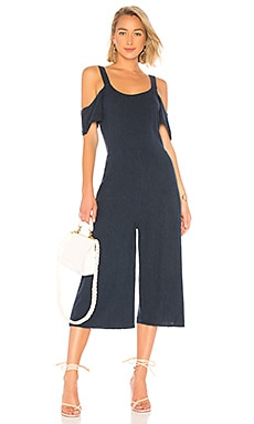 Seaside Linen Jumpsuit Bobi $40