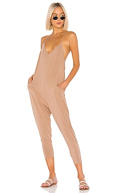Draped Modal Jersey Jumpsuit Bobi $66