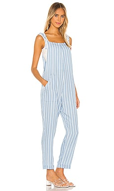 BLACK San Diego Stripe Jumpsuit Bobi $136 BEST SELLER